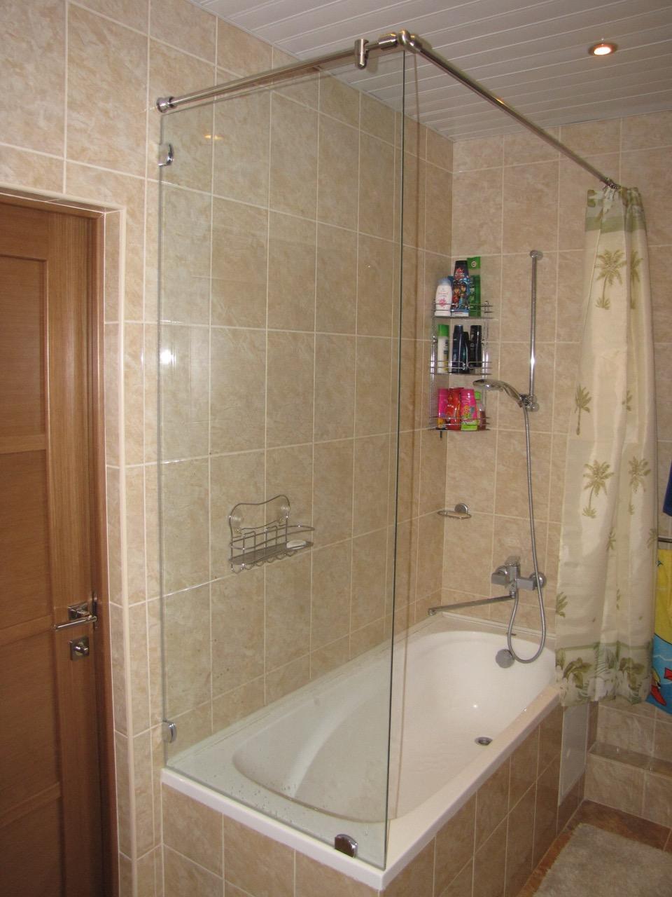 Душевые перегородки и экраны (шторки) для ванной